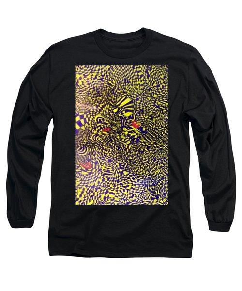 Mind Kaleidoscope 1 Long Sleeve T-Shirt by Jonathon Hansen