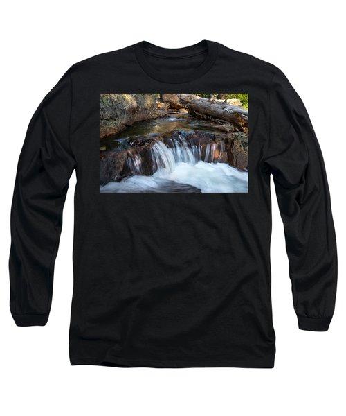 Mini-fall At Eagle Falls Long Sleeve T-Shirt