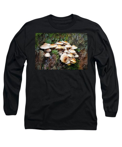 Mini Mushroom Landscape Long Sleeve T-Shirt