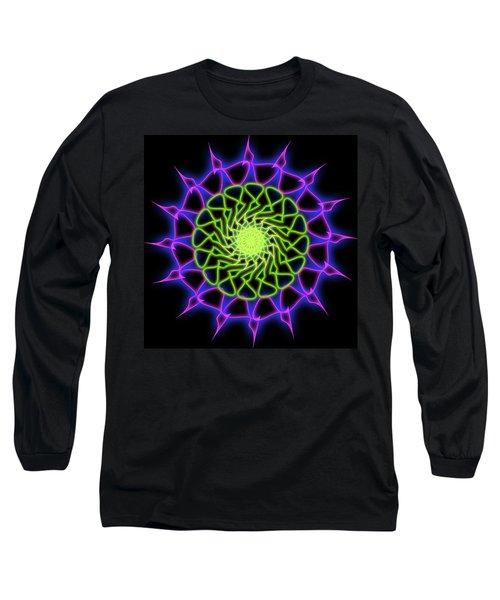 Minimal Trance Long Sleeve T-Shirt