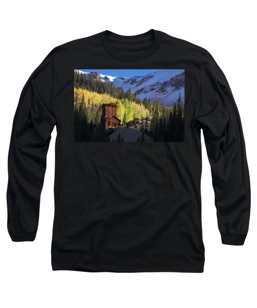 Mining Ruins Long Sleeve T-Shirt