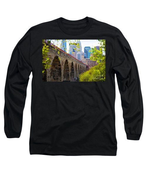 Minneapolis Stone Arch Bridge Photography Seminar Long Sleeve T-Shirt