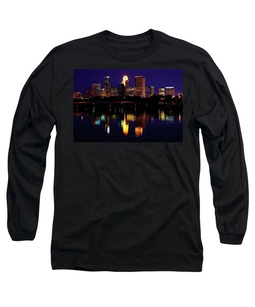 Minneapolis Twilight Long Sleeve T-Shirt