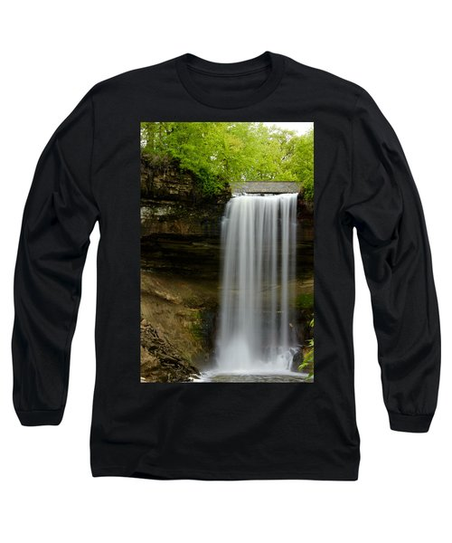 Minnehaha Falls Long Sleeve T-Shirt