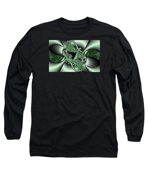 Mint3 Long Sleeve T-Shirt by Ron Bissett