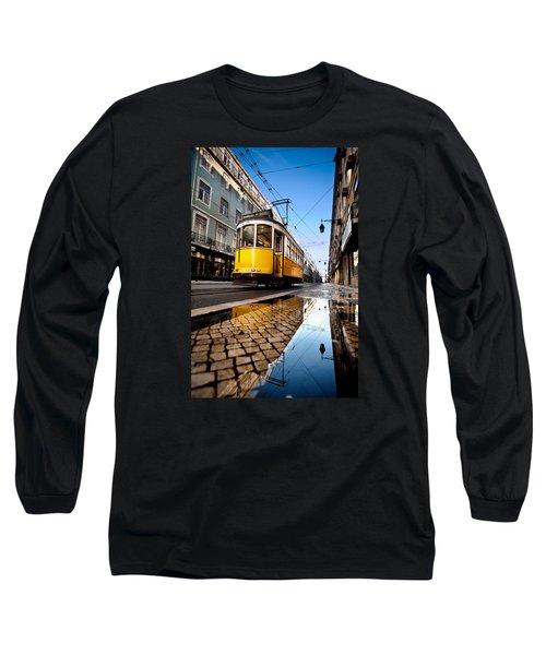 Mirror Long Sleeve T-Shirt by Jorge Maia