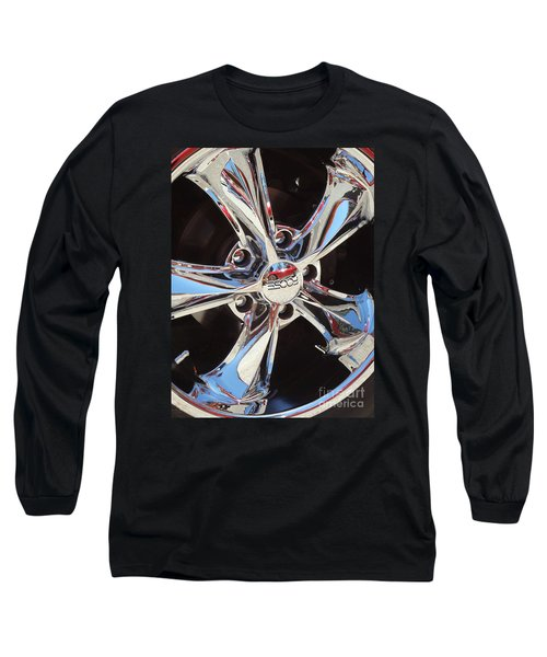 Mirror Wheel Long Sleeve T-Shirt by Gem S Visionary