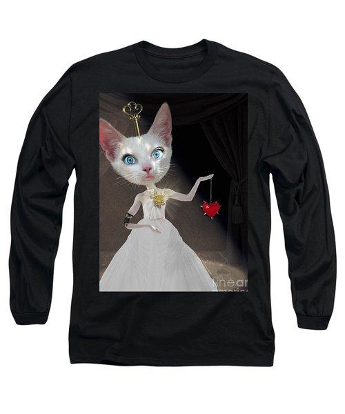 Miss Kitty Long Sleeve T-Shirt by Juli Scalzi
