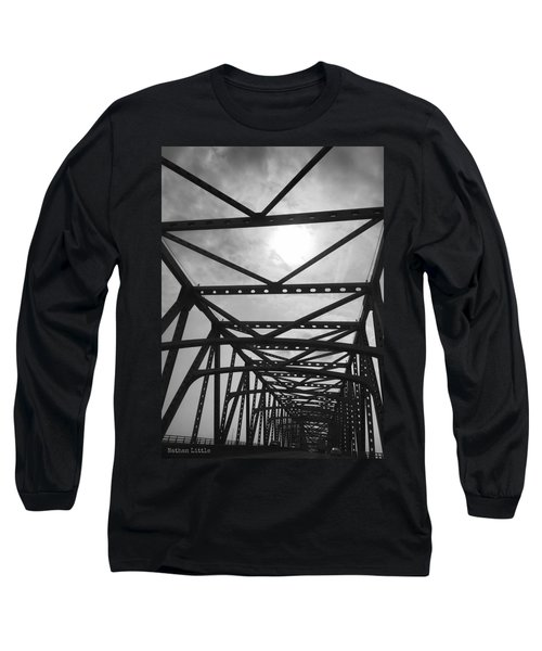 Mississippi River Bridge Long Sleeve T-Shirt