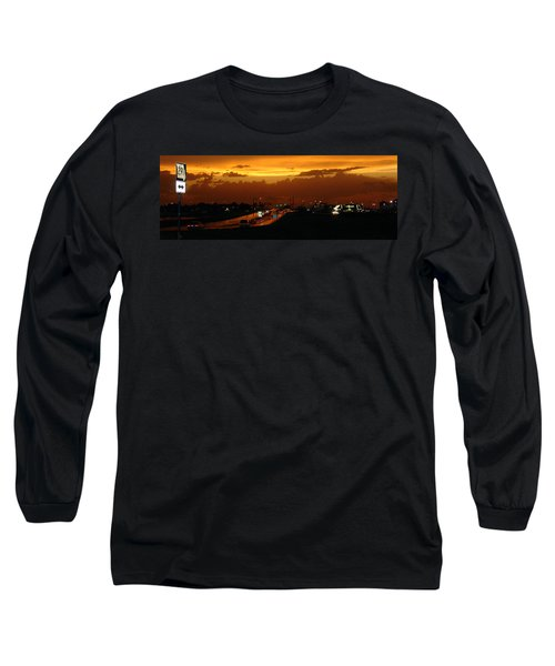 Missouri 291 Long Sleeve T-Shirt by Steve Karol