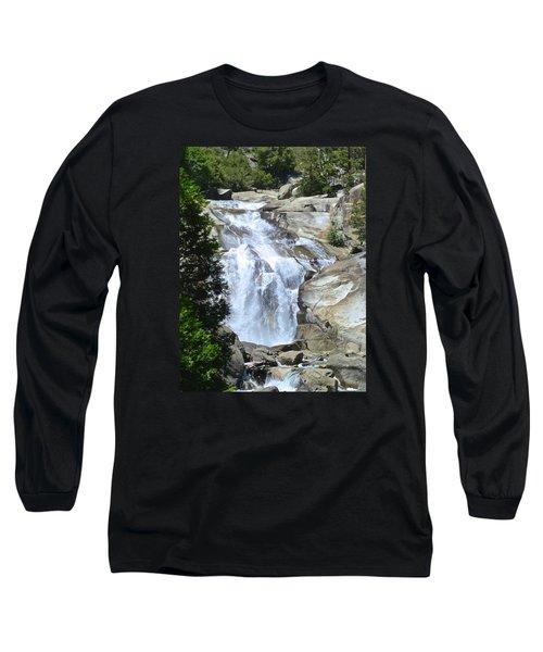 Mist Falls Long Sleeve T-Shirt by Amelia Racca