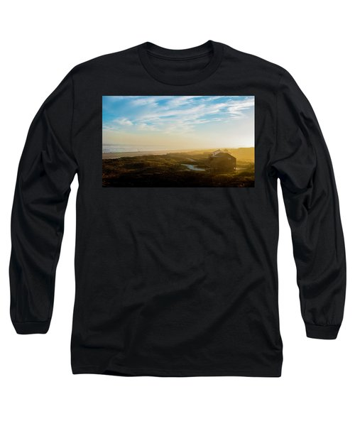 Misty Beach Long Sleeve T-Shirt