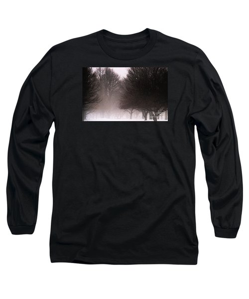 Misty Long Sleeve T-Shirt by Linda Shafer