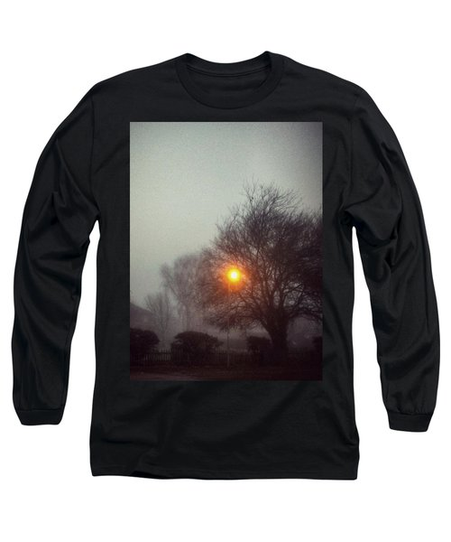 Long Sleeve T-Shirt featuring the photograph Misty Morning by Persephone Artworks