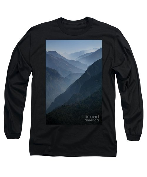 Misty Peaks Long Sleeve T-Shirt