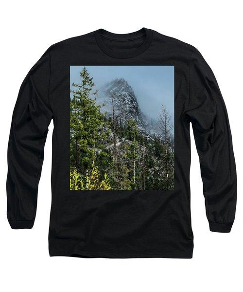 Misty Pinnacle Long Sleeve T-Shirt