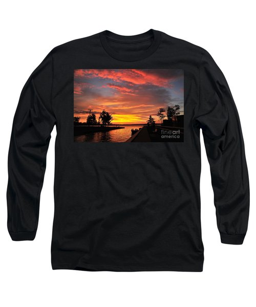 Mitchell State Park Cadillac Michigan Long Sleeve T-Shirt by Terri Gostola