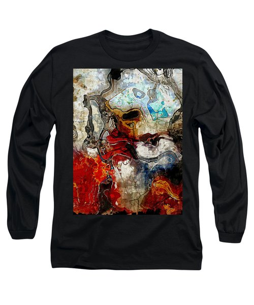 Mixed Emotions Long Sleeve T-Shirt by The Art Of JudiLynn