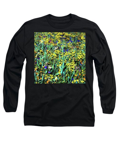 Mixed Flower Garden 515 Long Sleeve T-Shirt