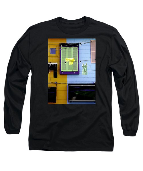 Long Sleeve T-Shirt featuring the photograph Mke Brz by Michael Nowotny