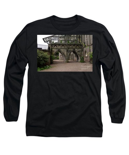 Moat At Inveraray Castle In Argyll Long Sleeve T-Shirt