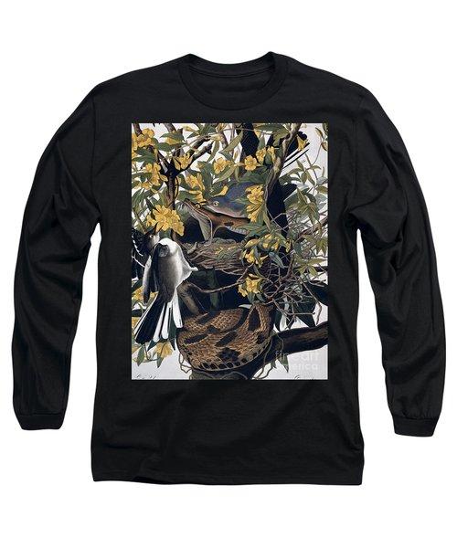 Mocking Birds And Rattlesnake Long Sleeve T-Shirt