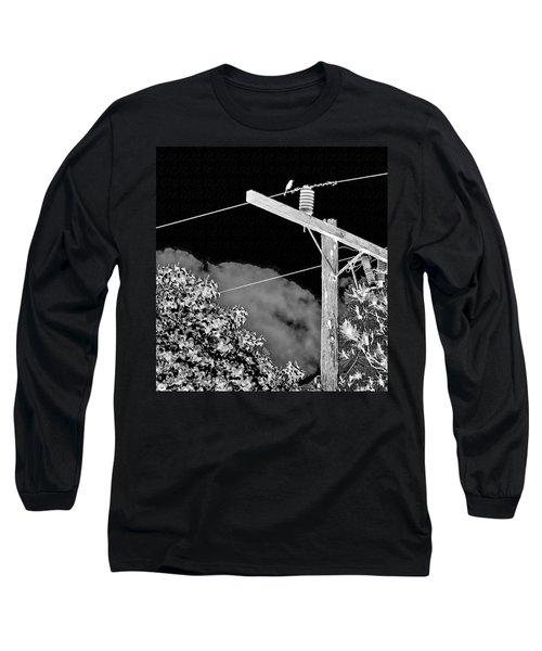 Mockingbird On A Wire Long Sleeve T-Shirt