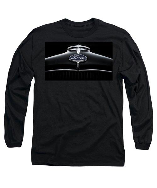 Model A Ford Long Sleeve T-Shirt by Douglas Pittman
