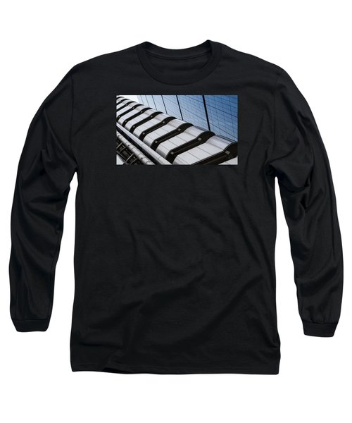 Lloyds Building Bank In London Long Sleeve T-Shirt by John Williams