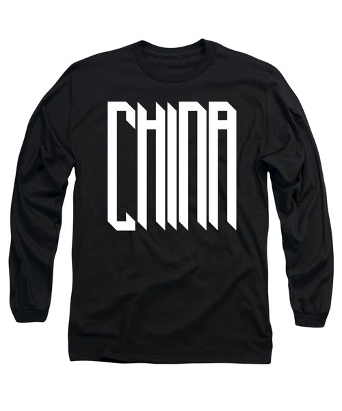 modern gothic style China Long Sleeve T-Shirt