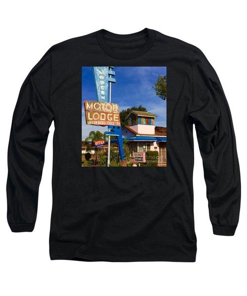 Modern In Lodi Long Sleeve T-Shirt by Suzanne Lorenz