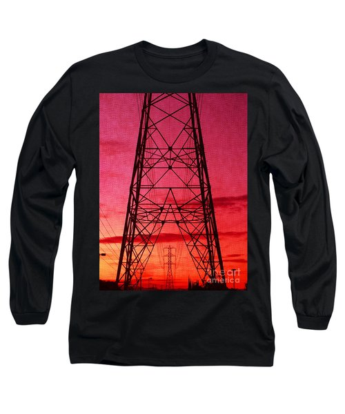 Modern Sunset Long Sleeve T-Shirt