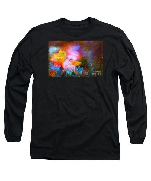 Moist Dream Vision  Long Sleeve T-Shirt by Rosa Cobos
