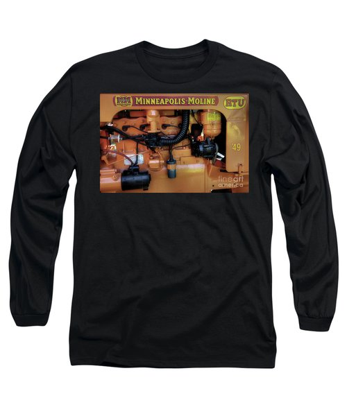 Moline Engine Long Sleeve T-Shirt