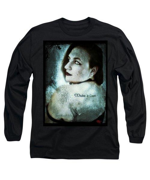 Mona 1 Long Sleeve T-Shirt by Mark Baranowski