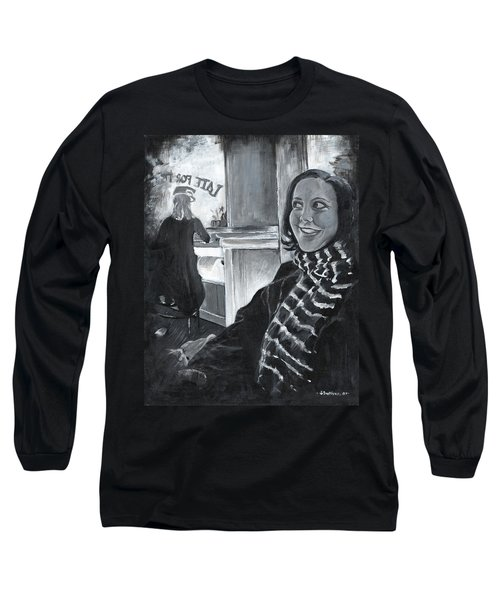 Mona Sandra  Long Sleeve T-Shirt