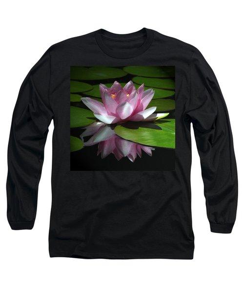 Long Sleeve T-Shirt featuring the photograph Monet's Muse by Marion Cullen