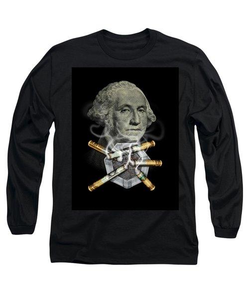 Money Up In Smoke Long Sleeve T-Shirt