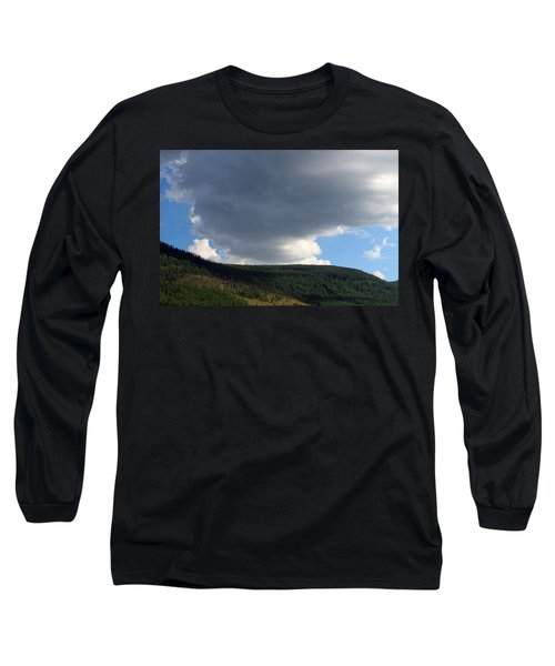 Mongolian Sky Long Sleeve T-Shirt by Diane Height