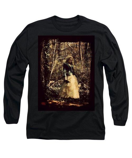 Monique 1 Long Sleeve T-Shirt by Mark Baranowski