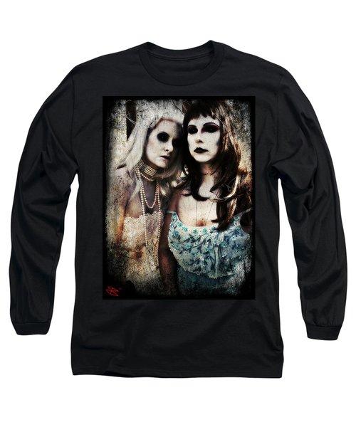 Monique And Ryli 1 Long Sleeve T-Shirt by Mark Baranowski