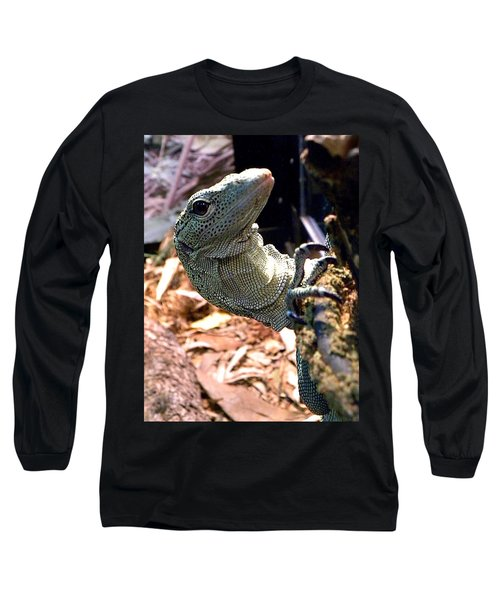 Monitor Lizard 002 Long Sleeve T-Shirt