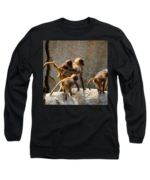 Monkey Family Long Sleeve T-Shirt