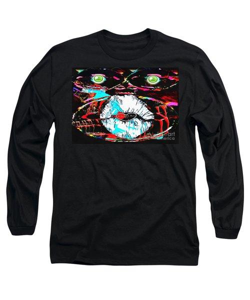 Monkey Works Long Sleeve T-Shirt by Catherine Lott