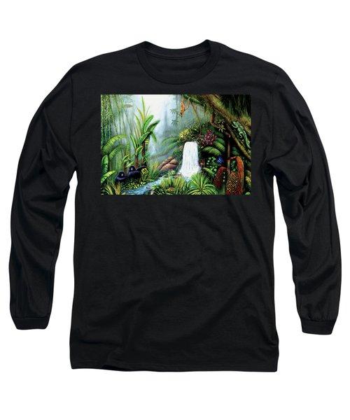 Monkeying Around Long Sleeve T-Shirt