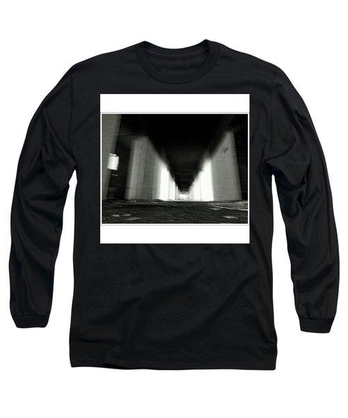 #monochrome  #fuji #finepixs1 Long Sleeve T-Shirt