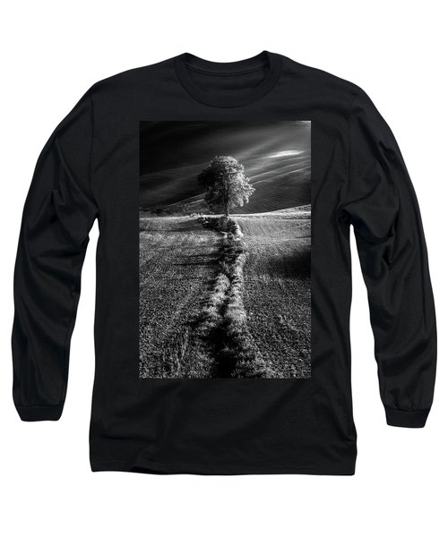 Monochrome Valley Long Sleeve T-Shirt