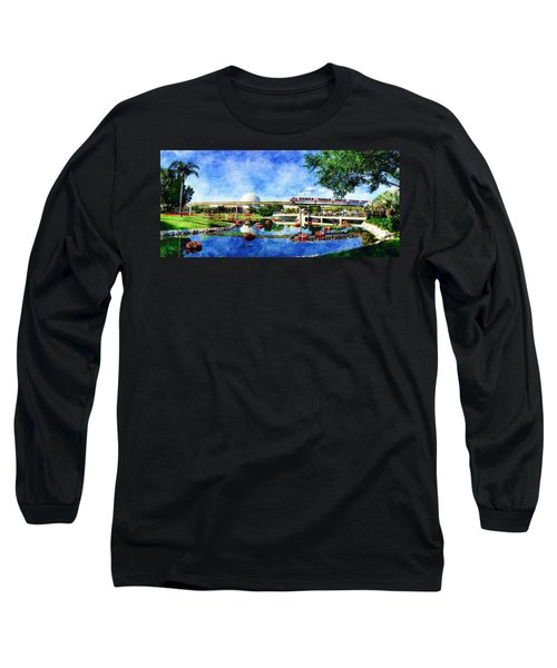 Monorail Red - Coming 'round The Bend Long Sleeve T-Shirt