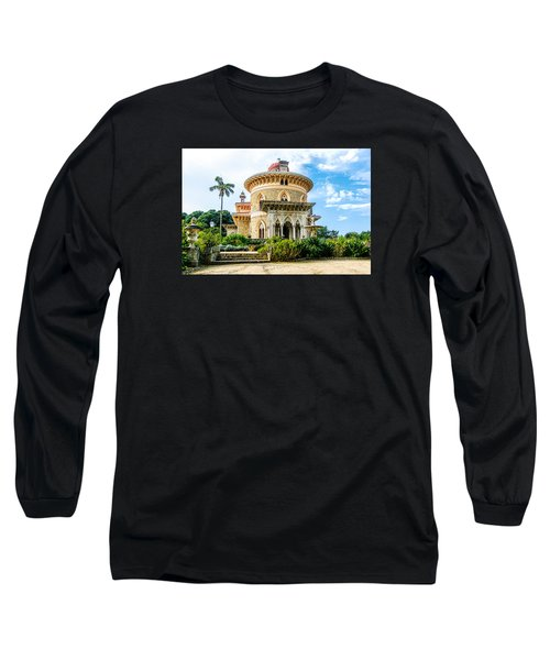 Long Sleeve T-Shirt featuring the photograph Monserrate Palace by Marion McCristall