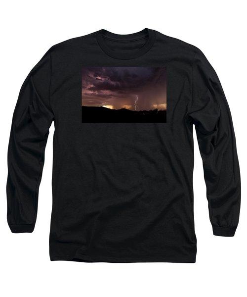 Monsoon Storm Long Sleeve T-Shirt by Dennis Eckel